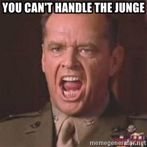 Jack Nicholson - You can't handle the truth! - You can't handle the Junge