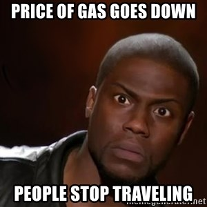 kevin hart nigga - Price of gas goes down People stop traveling