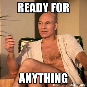 Sexual Picard - Ready for anything
