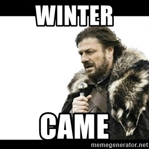 Winter is Coming - Winter Came
