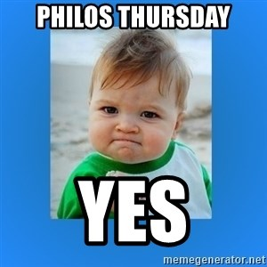 yes baby 2 - philos thursday yes