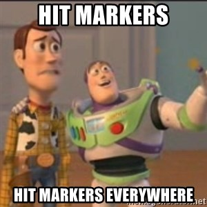 Buzz - Hit Markers Hit Markers everywhere