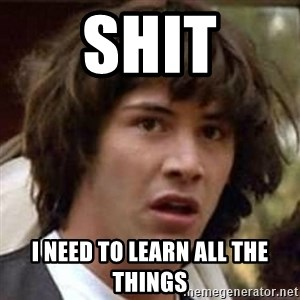 Conspiracy Keanu - Shit I need to learn all the things