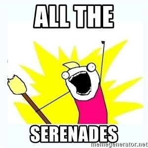 All the things - ALL THE SERENADES