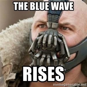 Bane - The Blue wave  Rises
