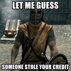 skyrim whiterun guard - let me guess someone stole your credit