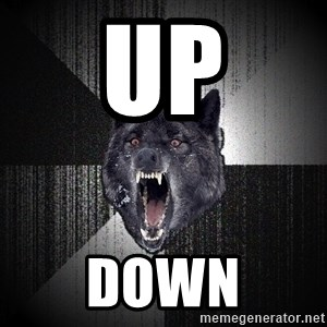 Insanity Wolf - up down