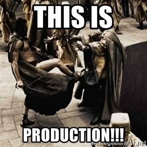 sparta kick - this is production!!!