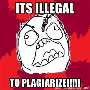 Rage FU - ITS ILLEGAL  TO PLAGIARIZE!!!!!