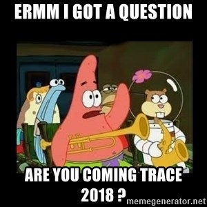 Patrick Star Instrument - Ermm i got a question are you coming trace 2018 ?