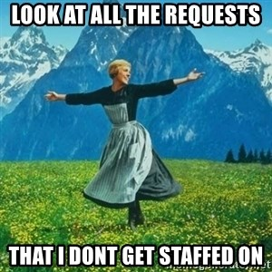 Look at All the Fucks I Give - LOOK AT ALL THE REQUESTS THAT I DONT GET STAFFED ON