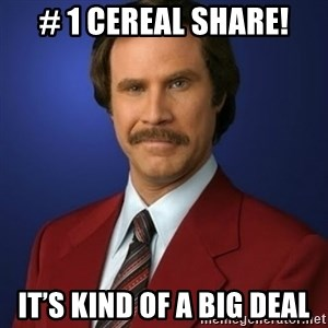 Anchorman Birthday - # 1 CEREAL SHARE! IT'S KIND OF A BIG DEAL