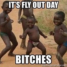 african children dancing - It's fly out day BITCHES