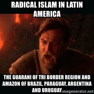 "Obi Wan Kenobi ""You were my brother!"" - Radical Islam in Latin America  The Guarani of Tri Border Region and Amazon of Brazil, Paraguay, Argentina and Uruguay"