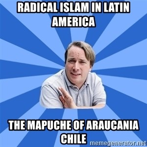typical_proger - Radical Islam in Latin America  The Mapuche of Araucania Chile