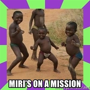 african kids dancing - Miri's on a mission