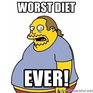 Comic Book Guy Worst Ever - Worst Diet Ever!