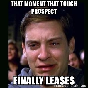 crying peter parker - That moment that tough prospect finally leases