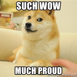 so doge - SUCH WOW MUCH PROUD