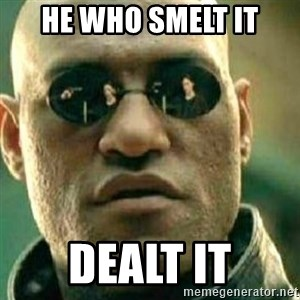 What If I Told You - He who smelt it dealt it