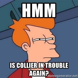 Futurama Fry - Hmm Is Collier In Trouble Again?