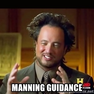 History guy - MANNING GUIDANCE