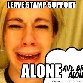 leave britney alone - Leave STAMP Support ALONE