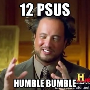 Ancient Aliens - 12 PSUs  Humble Bumble