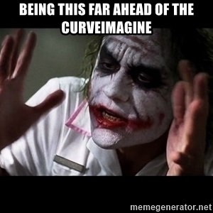 joker mind loss - being this far ahead of the curveimagine