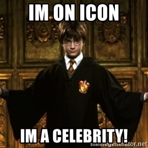 Harry Potter Come At Me Bro - im on icon im a celebrity!