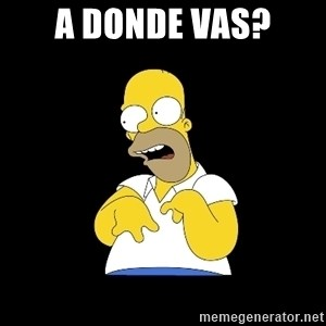 look-marge - A donde vas?