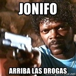 Pulp Fiction - jonifo arriba las drogas