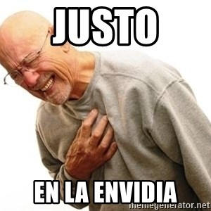 Old Man Heart Attack - Justo  En la envidia