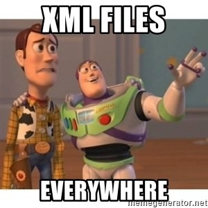 Toy story - XML Files Everywhere