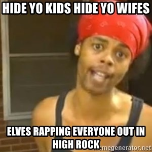 Antoine Dodson - hide yo kids hide yo wifes elves rapping everyone out in high rock