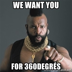 Mr T Fool - WE WANT YOU FOR 360DEGRés