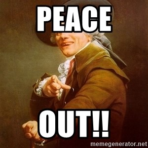 Joseph Ducreux - peace  out!!