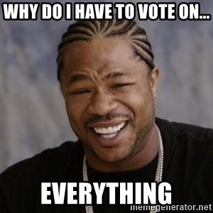 xzibit-yo-dawg - why do i have to vote on... everything