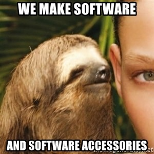 Whispering sloth - We make software and software accessories