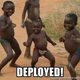 african children dancing - Deployed!