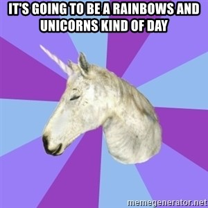 ASMR Unicorn - It's going to be a rainbows and unicorns kind of day