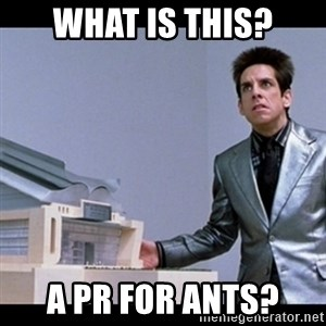 Zoolander for Ants - What is this? A PR for Ants?