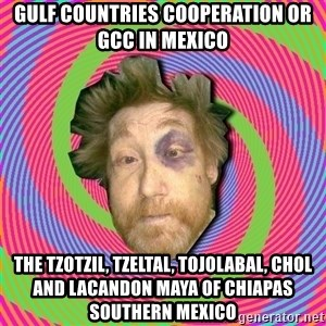 Russian Boozer - Gulf Countries Cooperation or GCC in Mexico  The Tzotzil, Tzeltal, Tojolabal, Chol and Lacandon Maya of Chiapas Southern Mexico