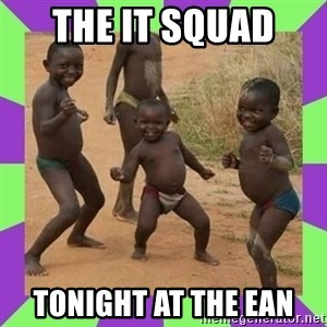 african kids dancing - The IT squad  tonight at the EAN