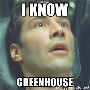 i know kung fu - I know Greenhouse