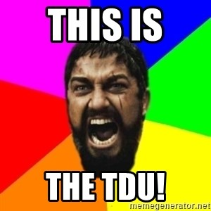 sparta - this is  the tdu!