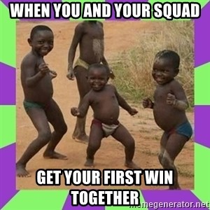 african kids dancing - when you and your squad get your first win together