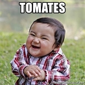 evil toddler kid2 - tomates