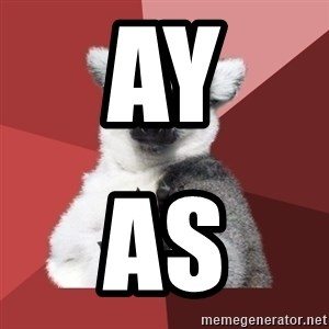 Chill Out Lemur - ay as