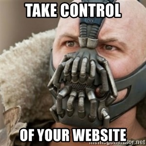 Bane - Take control of your website